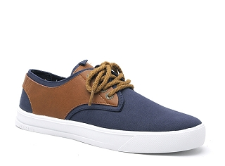 MALUPIN BORDER DERBY CANVAS:Bleu