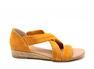 PADDLE A271 317 SUEDE:Jaune