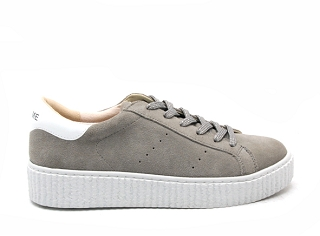22485 22 PICADILLY SNEACKER SUEDE:Gris
