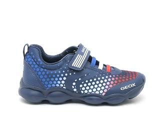 Arriesgado Persona especial Ninguna  Geox basses jr munfrey boy bleu | Ariva Chaussures