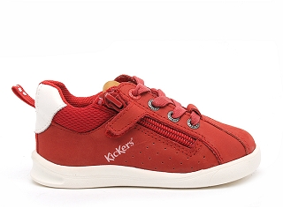 KICKERS CHICAGO BB 597371<br>Rouge