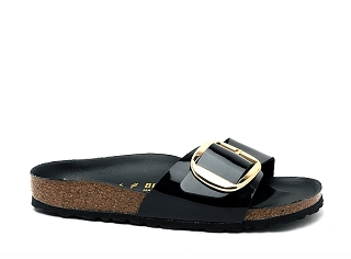 REINETTE MADRID BIG BUCKLE:Noir