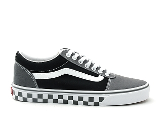 VANS WARD CHECKER TAPE<br>Noir