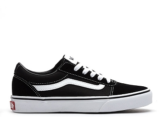 VANS YT WARD SUEDE CANVAS<br>Noir