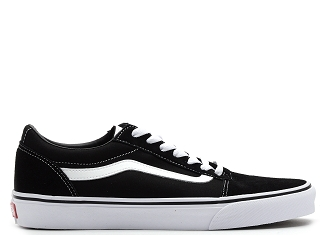 VANS WARD SUEDE CANVAS<br>Noir