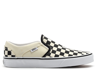 VANS ASHER CANVAS<br>Noir