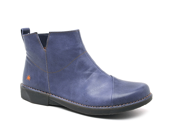 Art boots bottine plates bergen 920 bleu
