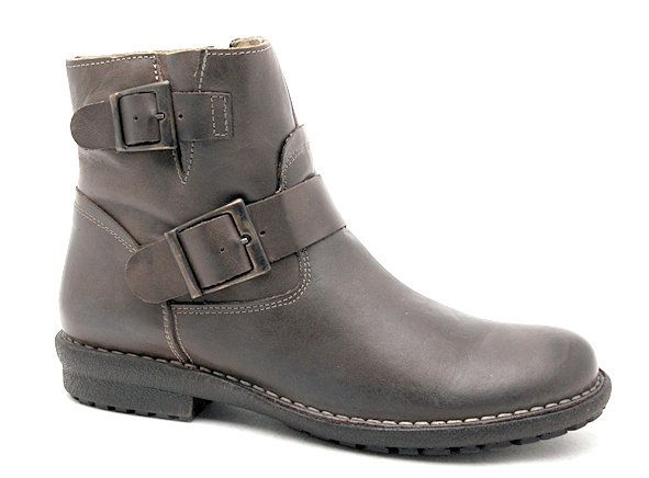 Chacal boots bottine plates 4015 marron