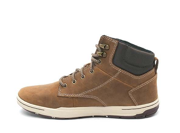 Caterpillar boots bottine colfax mid marron1806701_3