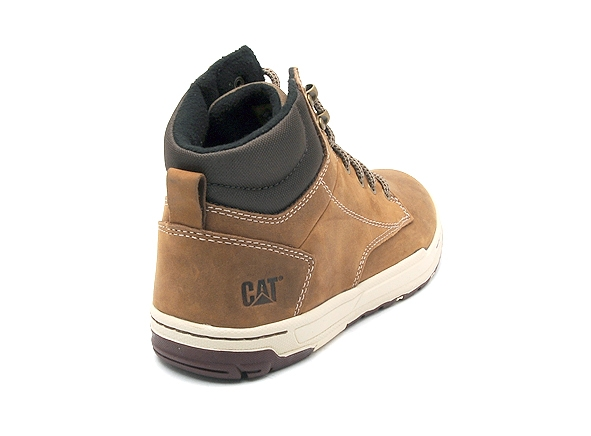 Caterpillar boots bottine colfax mid marron1806701_5