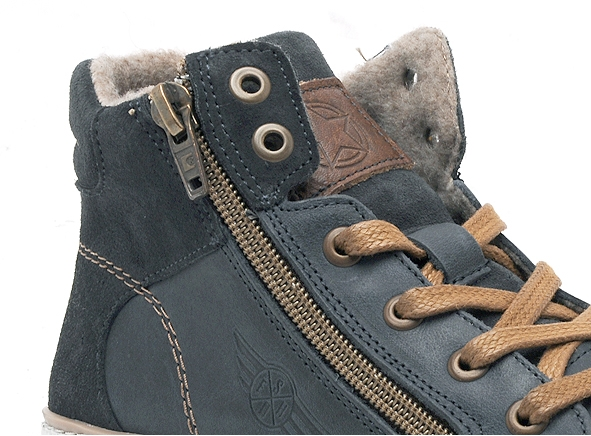 Bullboxer boots bottine agm 526 e6l bleu1816401_6