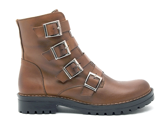 Chacal boots bottine plates 4465 marron