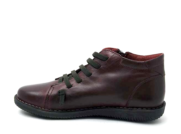 Chacal boots bottine plates 4803 bordeaux1856904_3