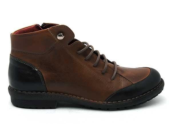 Chacal boots bottine plates 4820 marron