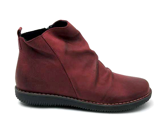 Chacal boots_bottine_plates 4802_rouge