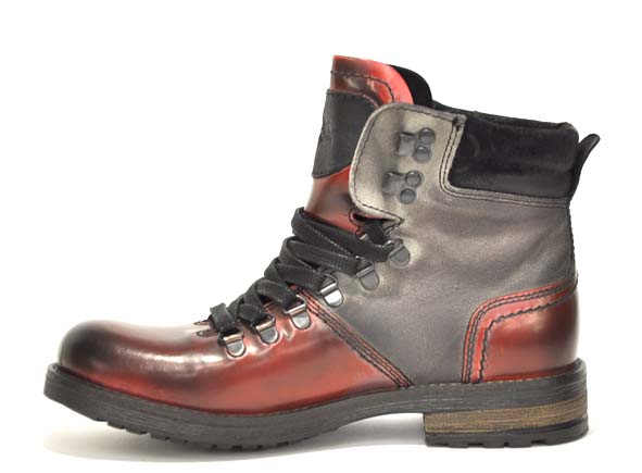 Ambitious boots bottine plates 2524 rouge4625601_3