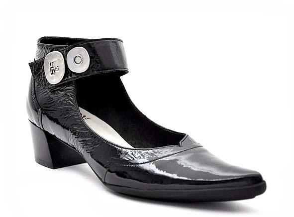 Un Matin D Ete Ballerines Irene Noir Ariva Chaussures