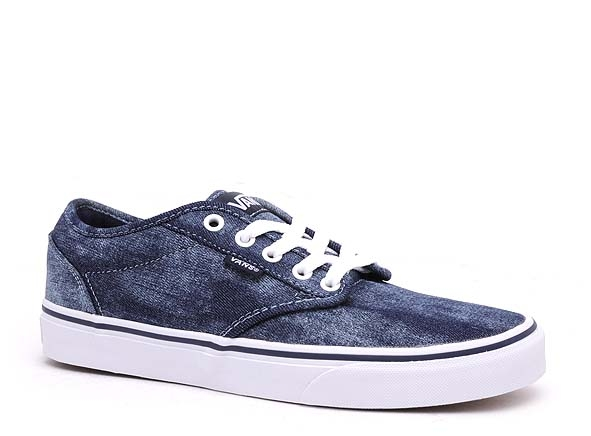Vans basses atwood bleu   Ariva Chaussures