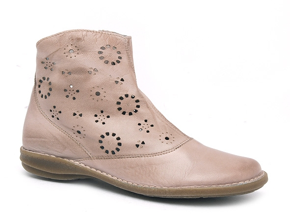 Chacal boots bottine plates 2622 beige