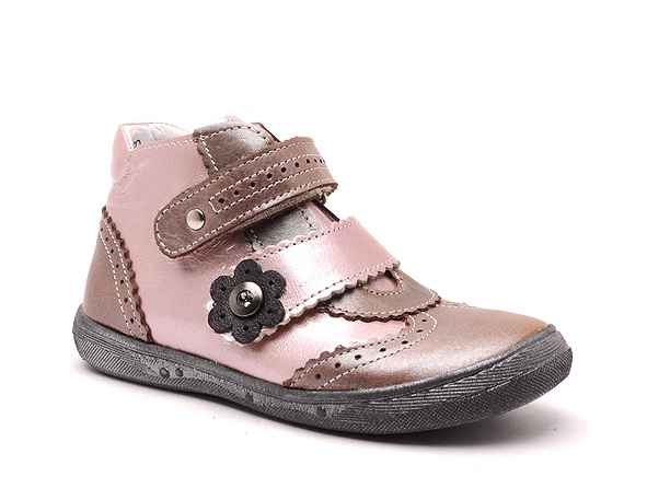 Bellamy boots bottine pepita 180 rose