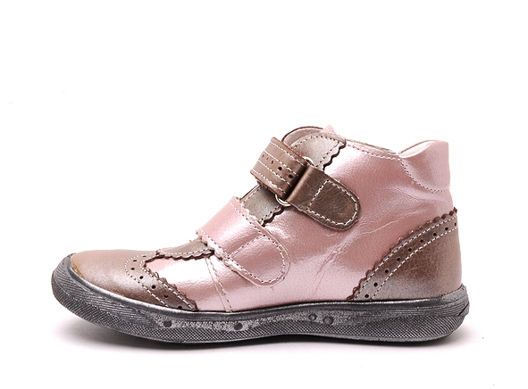 Bellamy boots bottine pepita 180 rose7166702_3