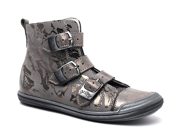 Bellamy boots bottine fiere 350 gris