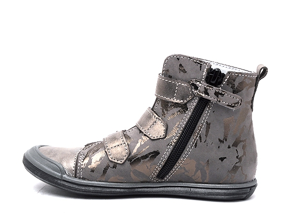 Bellamy boots bottine fiere 350 gris7167701_3