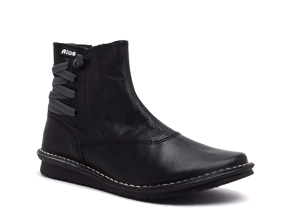 Alce shoes boots bottine plates 8906 noir