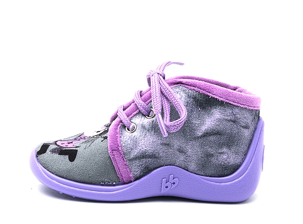 Babybotte chaussons mamout violet7264802_3