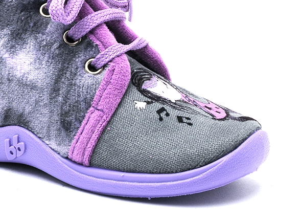 Babybotte chaussons mamout violet7264802_6