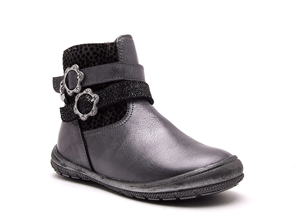 Bopy boots bottine bolivie gris
