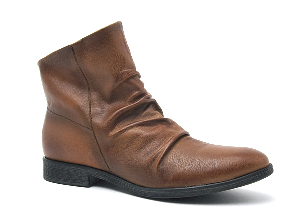 Chacal boots bottine plates 3667 marron