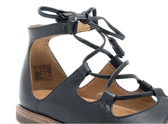 Guante Tormento Arruinado  Clarks nu pieds plats corsio dallas noir | Ariva Chaussures