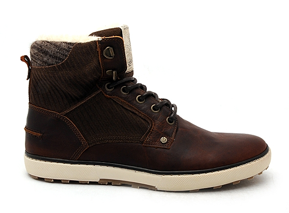 Bullboxer boots bottine 209k85837 marron7834101_2