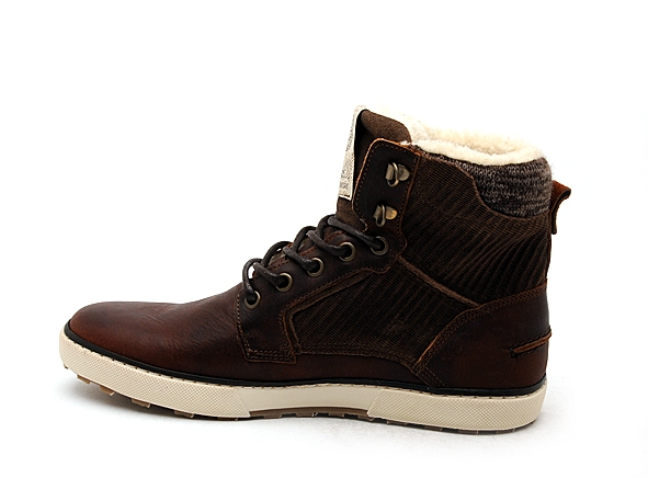Bullboxer boots bottine 209k85837 marron7834101_3