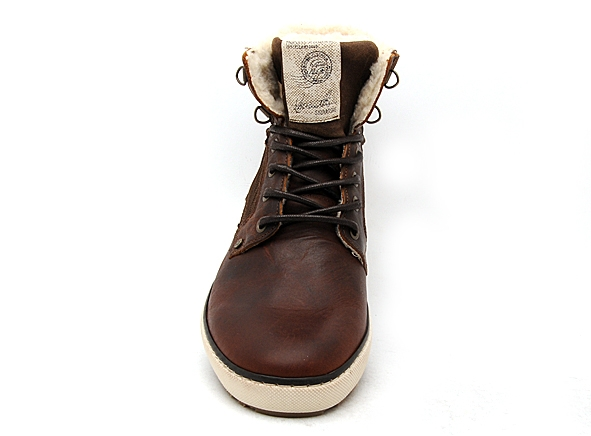 Bullboxer boots bottine 209k85837 marron7834101_4