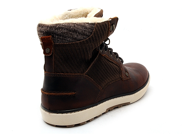 Bullboxer boots bottine 209k85837 marron7834101_5