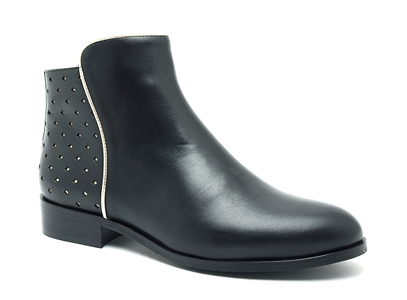 Mellow yellow boots bottine plates charlyn noir