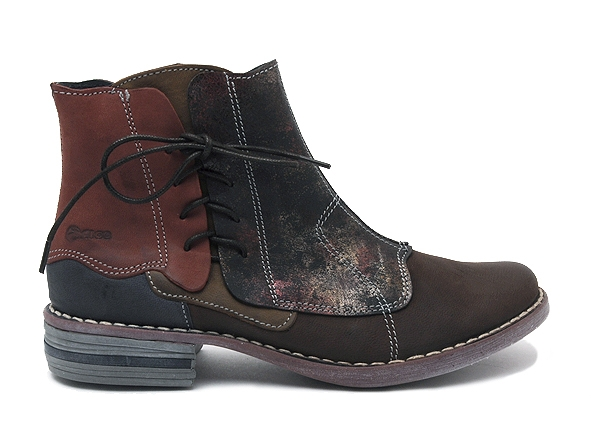 Alce shoes boots bottine plates 8392 marron7944901_2