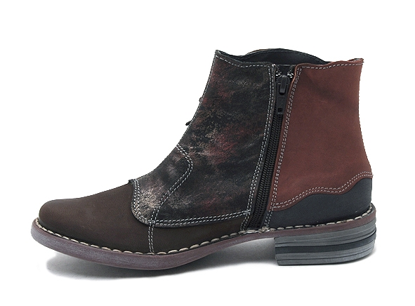 Alce shoes boots bottine plates 8392 marron7944901_3