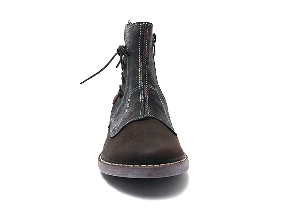 Alce shoes boots bottine plates 8392 marron7944901_4
