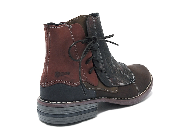 Alce shoes boots bottine plates 8392 marron7944901_5