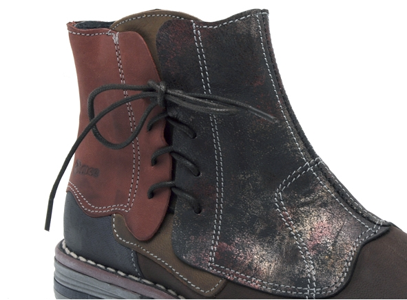 Alce shoes boots bottine plates 8392 marron7944901_6