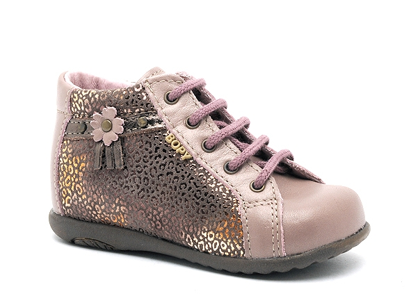 Bopy boots bottine zolira rose