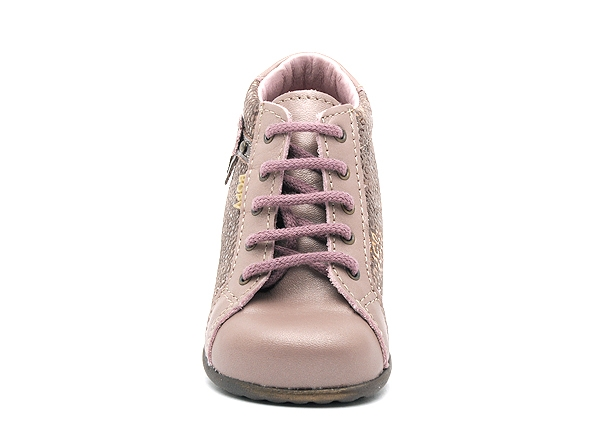 Bopy boots bottine zolira rose8161401_4