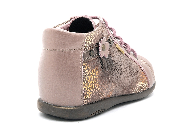 Bopy boots bottine zolira rose8161401_5