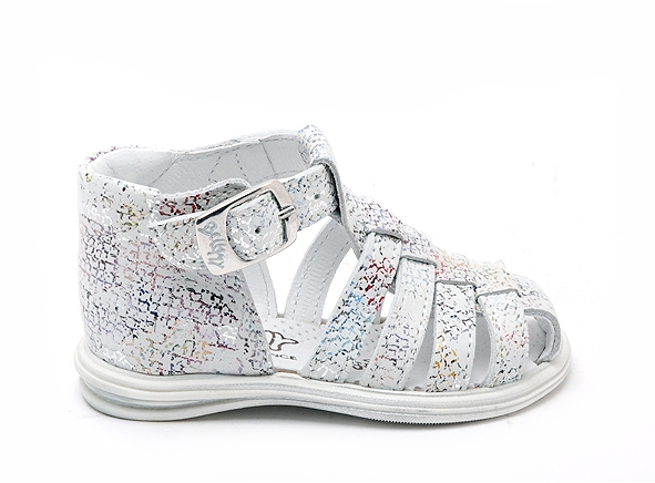 Bellamy nu pieds susan multicolore
