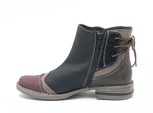 Alce shoes boots bottine plates 8859 bordeaux8496101_3
