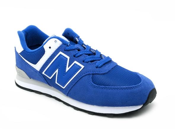 New balance basses 574 bleu | Ariva Chaussures