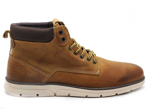 Jack_and_jones boots_bottine jfwtubar_leather_marron